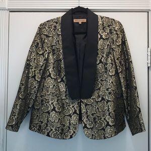 Vintage Nipon Boutique 14W Tuxedo Style Jacket